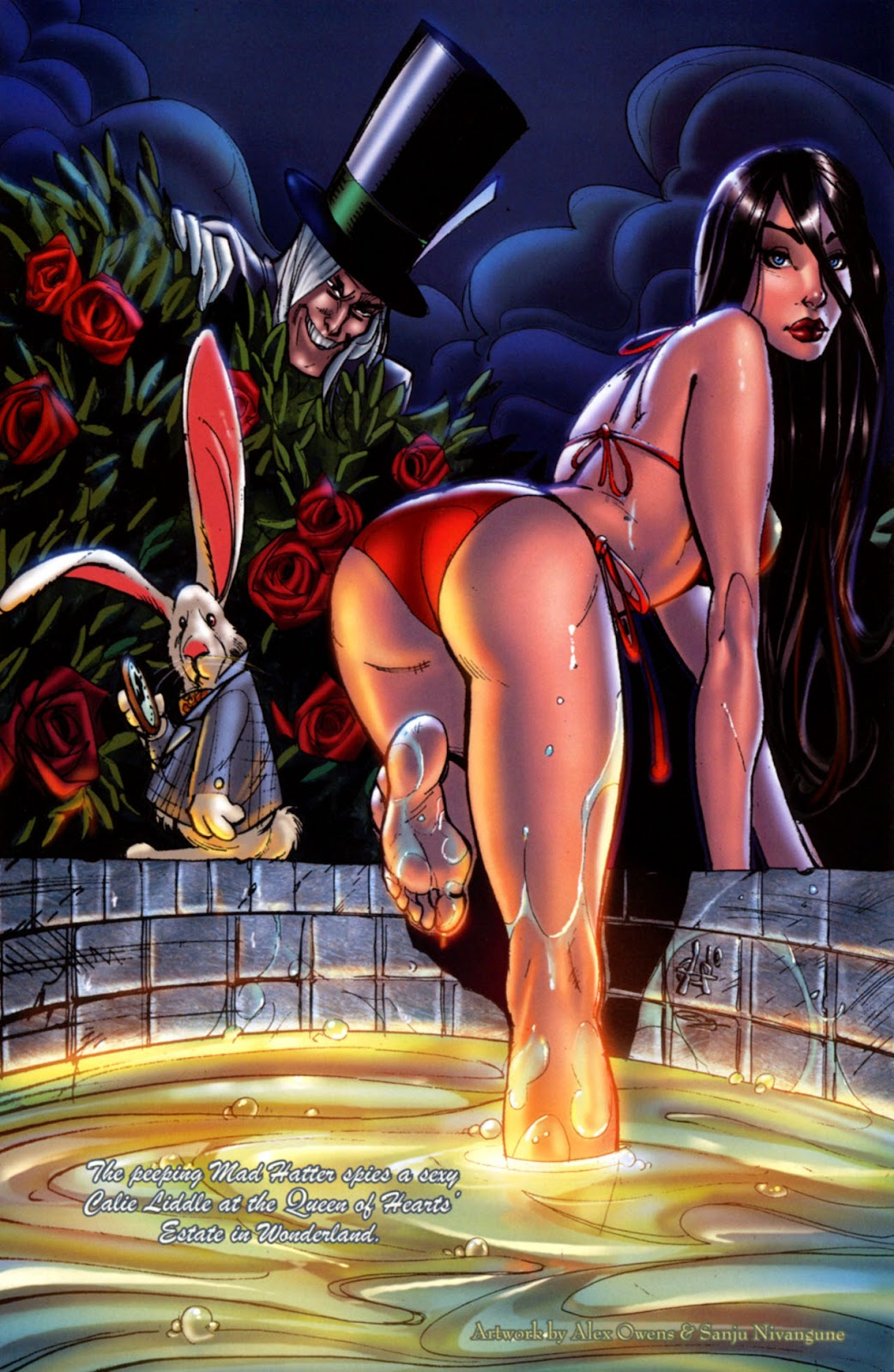 Grimm Fairy Tales: Swimsuit Edition Full #1 - English 13