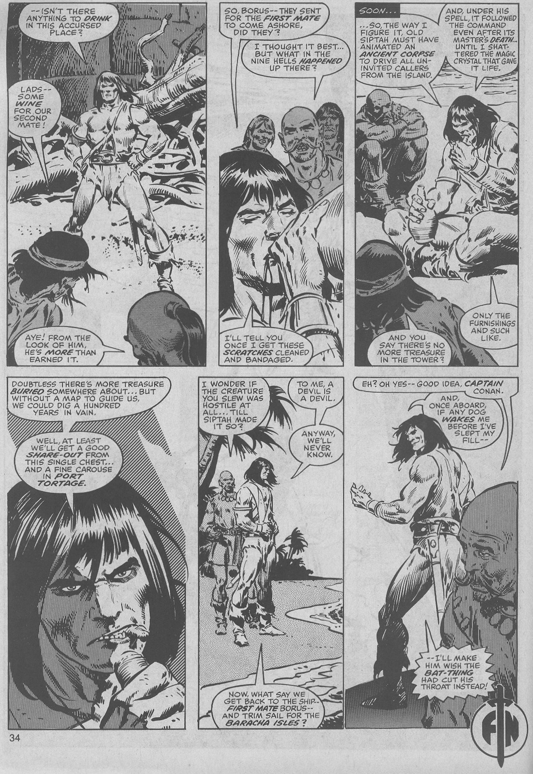 The Savage Sword Of Conan Issue #45 #46 - English 34