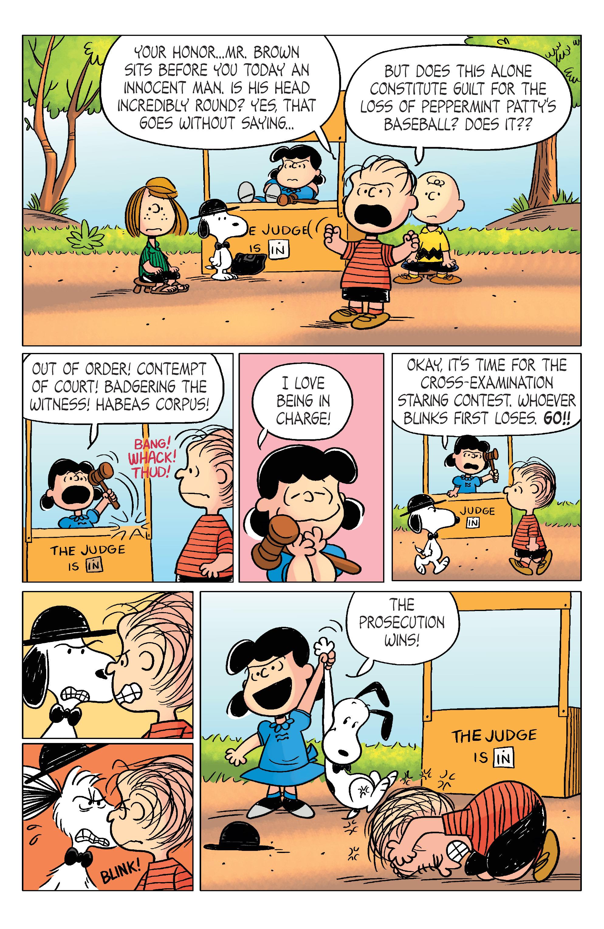 Read online Peanuts (2012) comic -  Issue #20 - 22