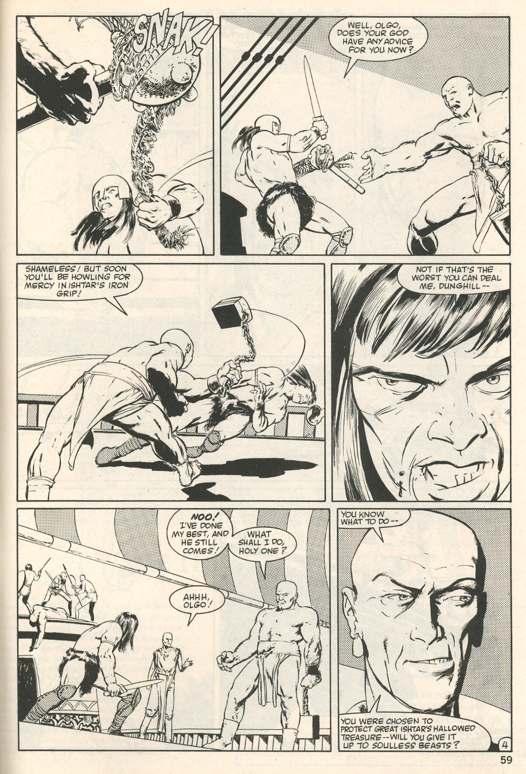 The Savage Sword Of Conan Issue #107 #108 - English 59