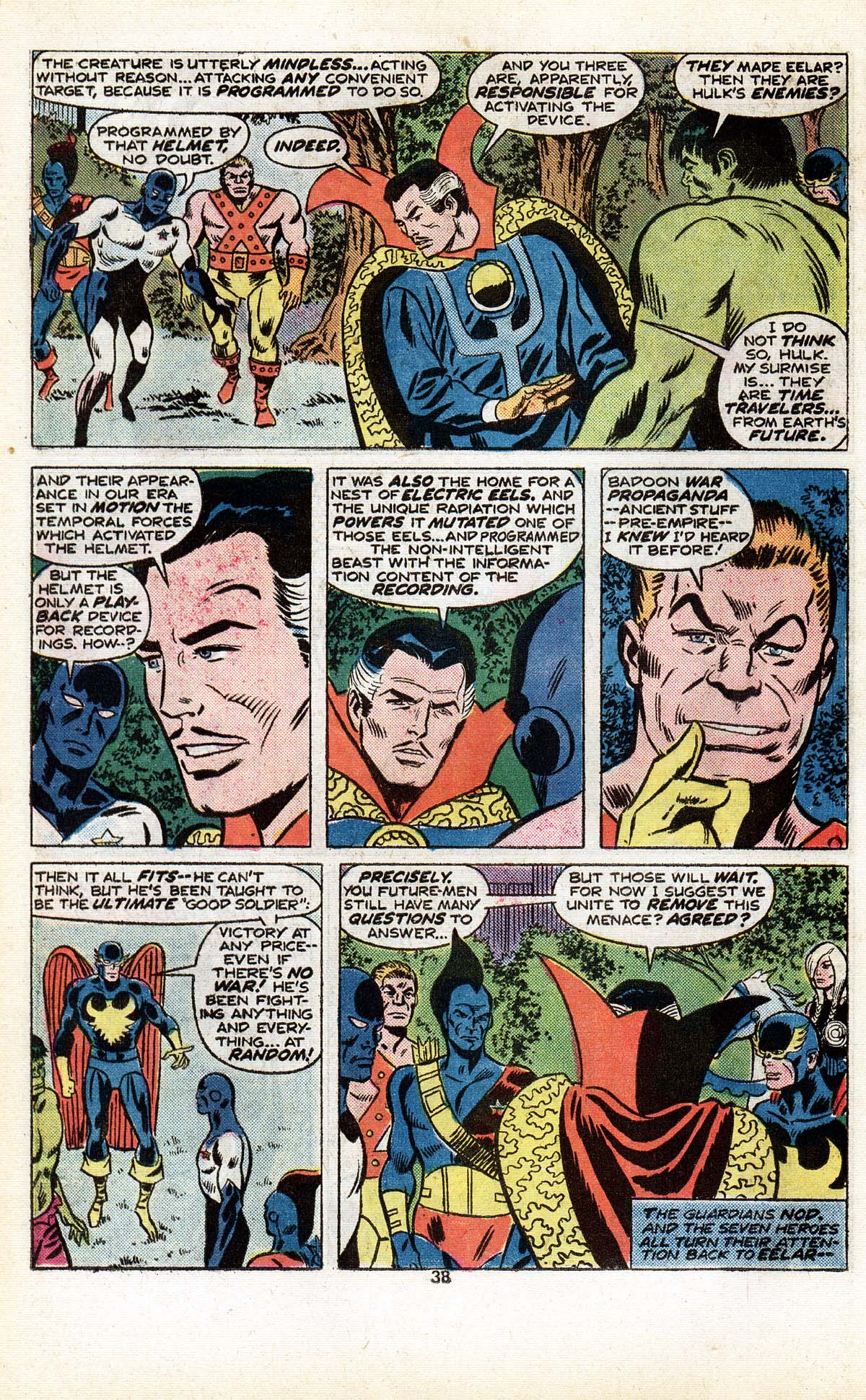 Read online Giant-Size Defenders comic -  Issue #5 - 40