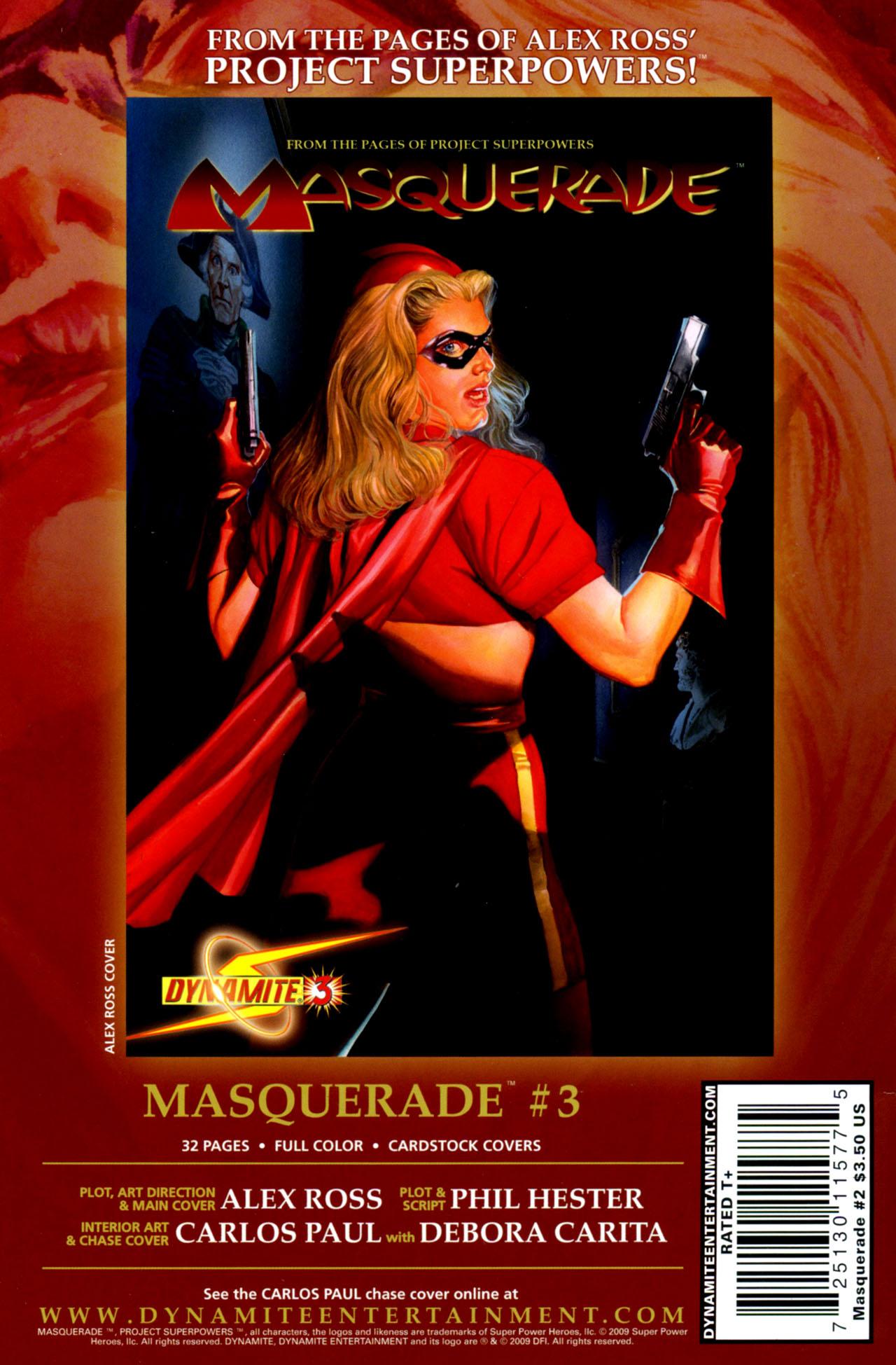 Read online Masquerade comic -  Issue #2 - 39