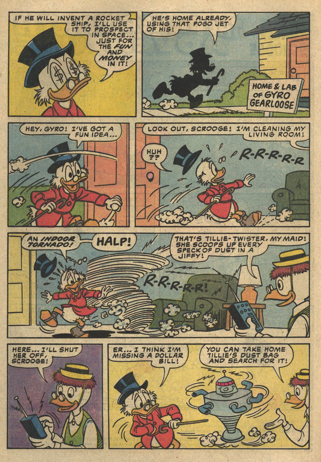 Uncle Scrooge (1953) Issue #194 #194 - English 4
