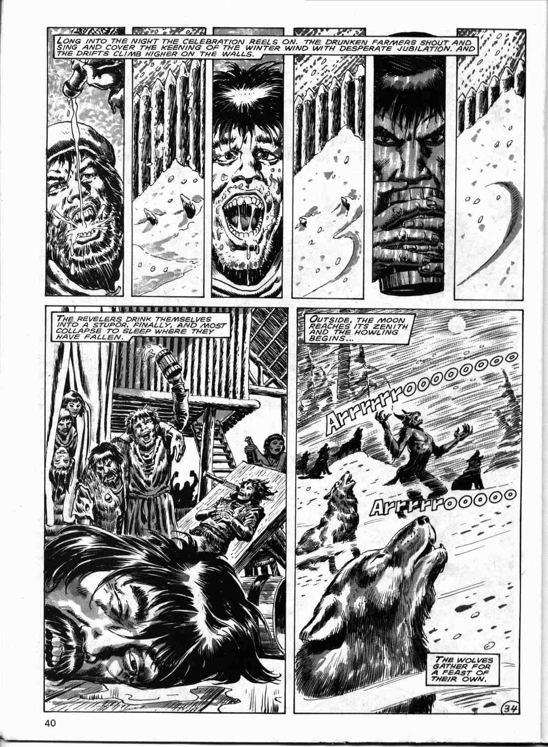 The Savage Sword Of Conan Issue #133 #134 - English 39