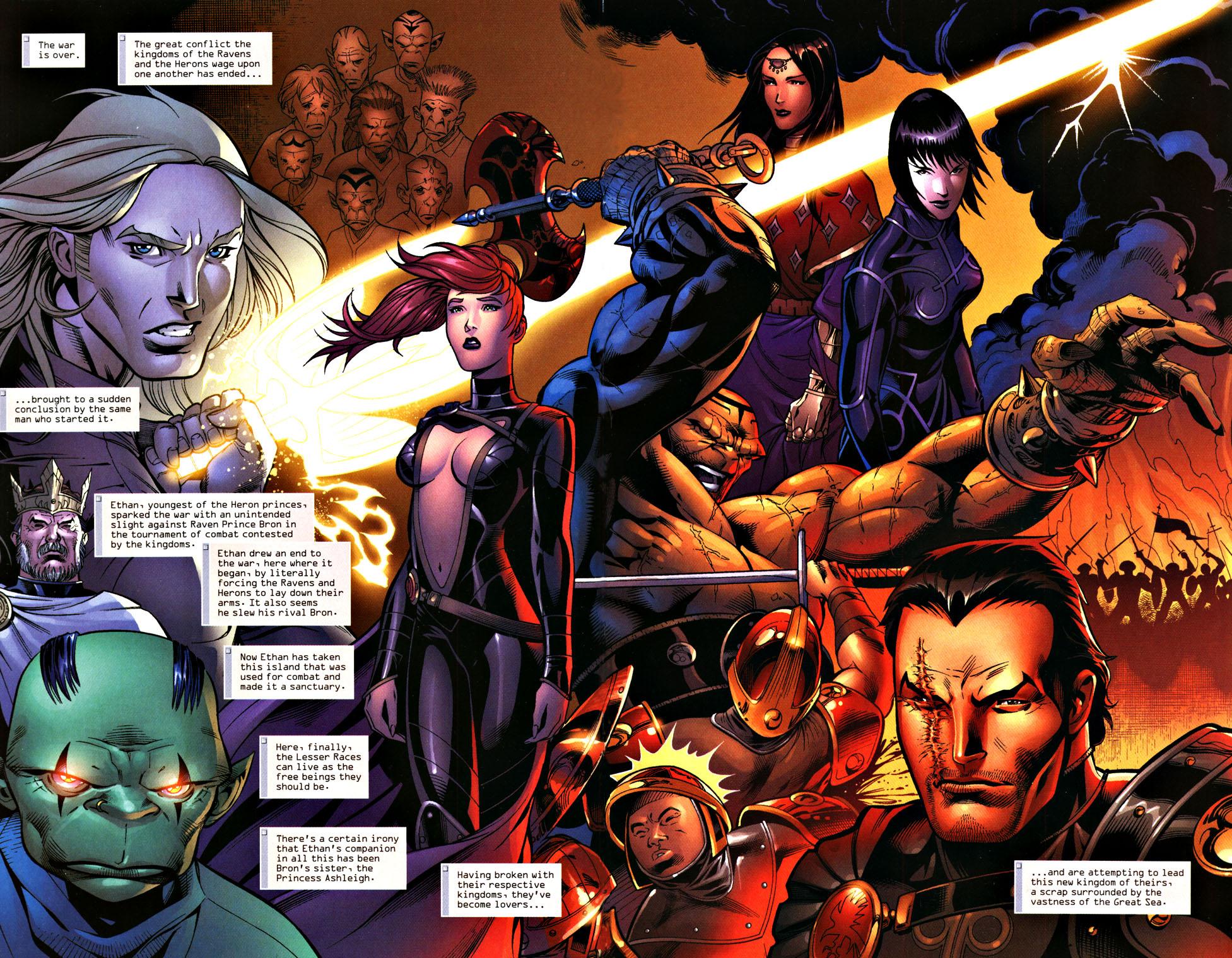 Read online Scion comic -  Issue #28 - 7