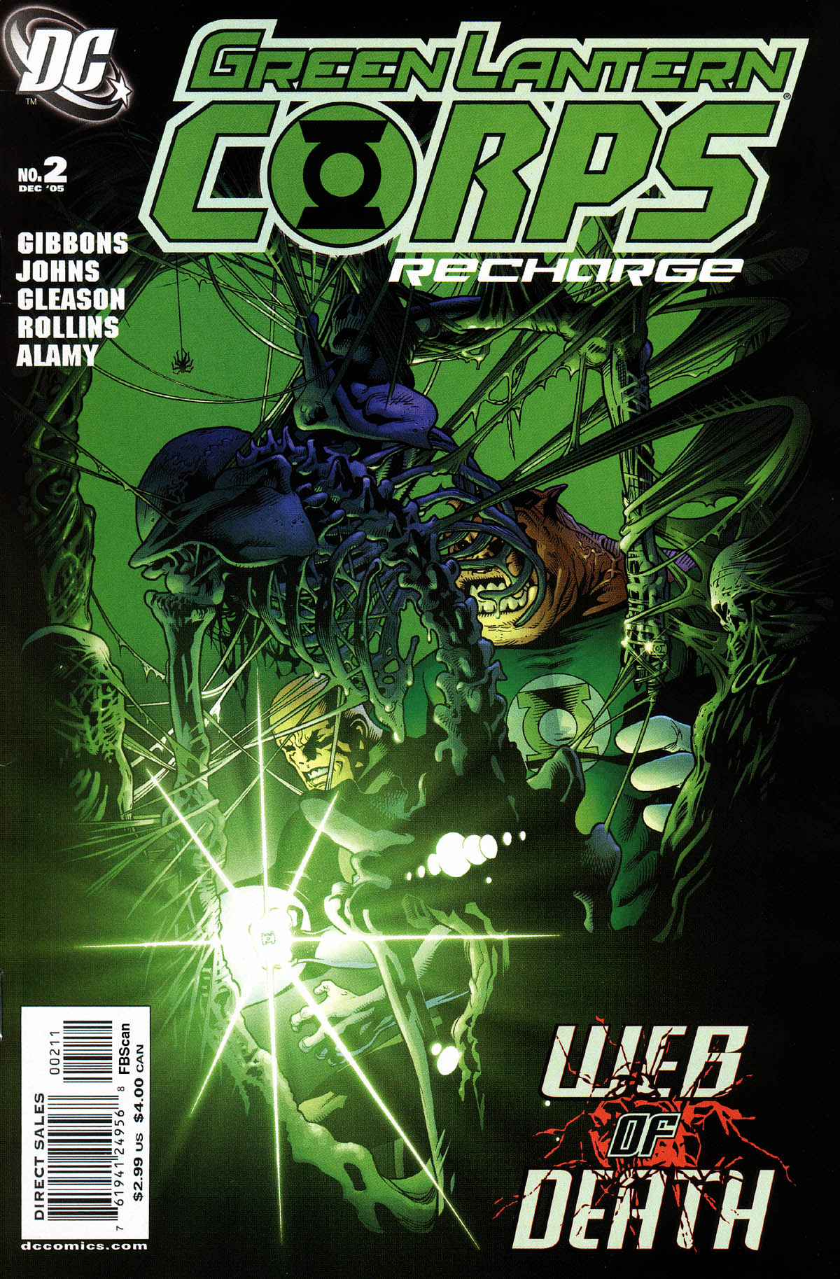 Read online Green Lantern Corps: Recharge comic -  Issue #2 - 1