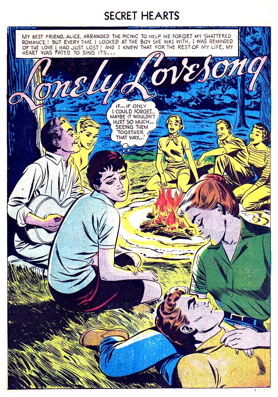 Read online Secret Hearts comic -  Issue #41 - 27