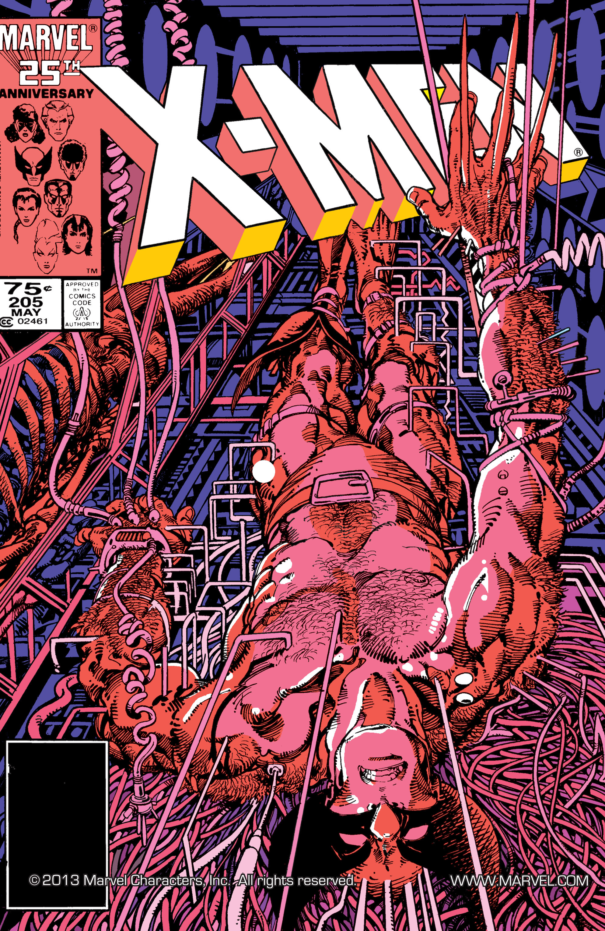 Uncanny X-Men (1963) 205 Page 1