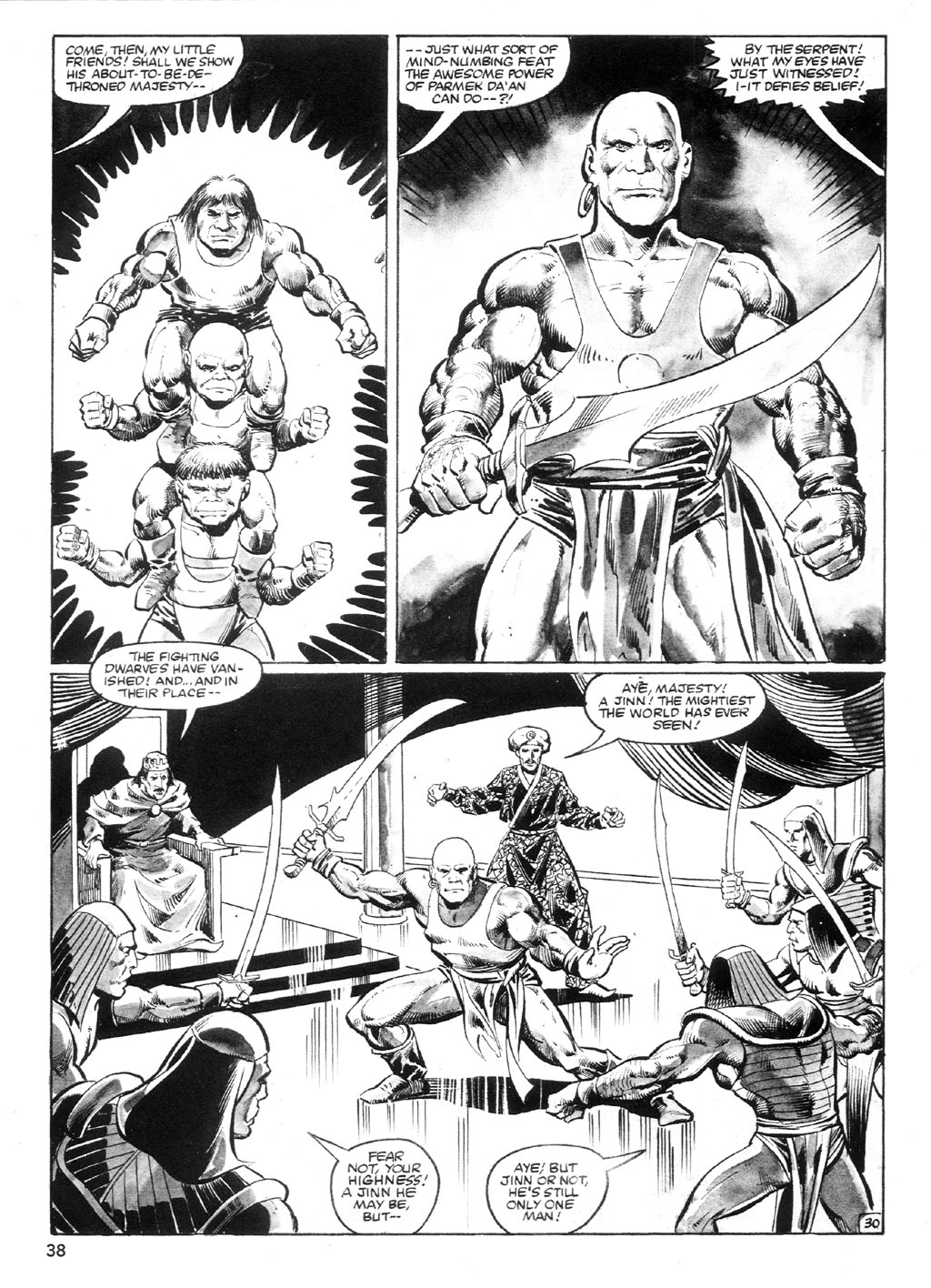 The Savage Sword Of Conan Issue #94 #95 - English 37