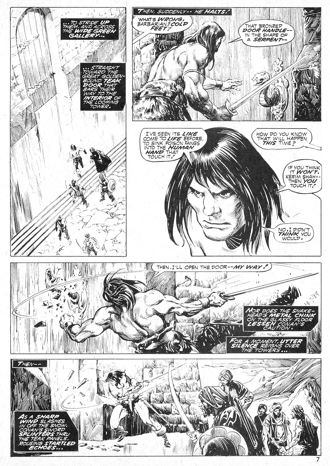 The Savage Sword Of Conan Issue #19 #20 - English 7