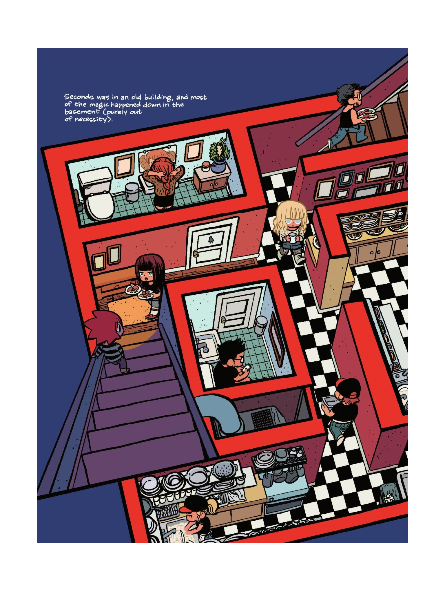 Read online Seconds comic -  Issue # Full - 30