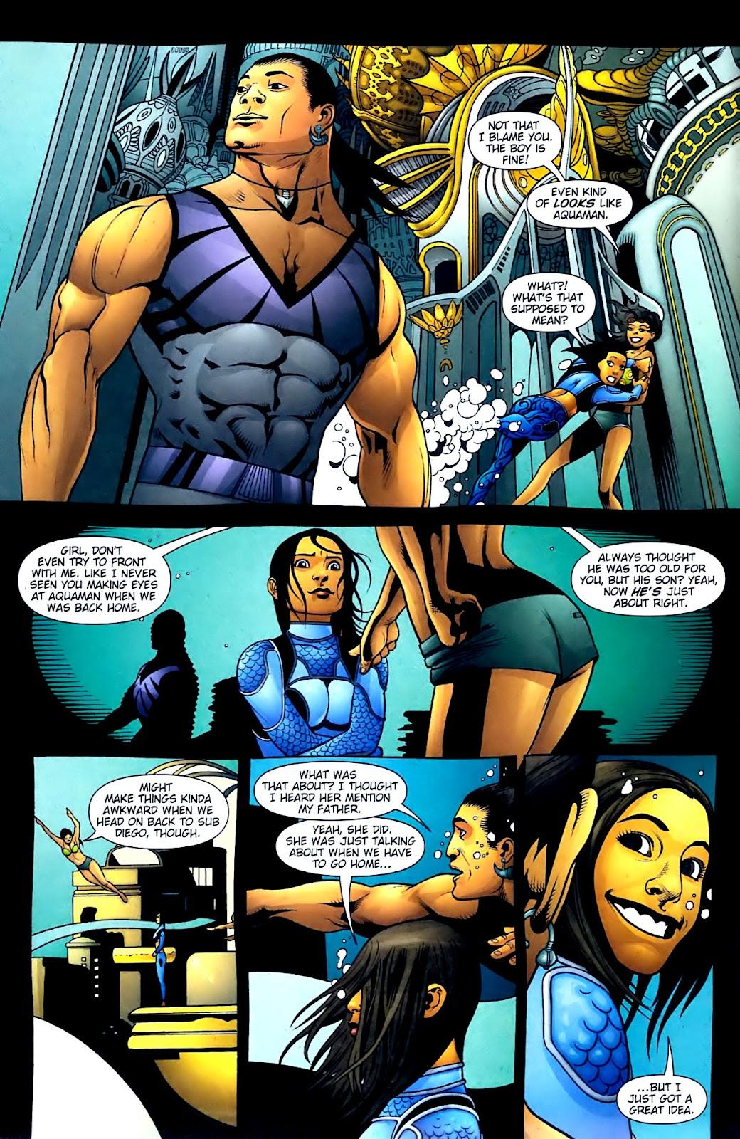 Aquaman (2003) Issue #32 #32 - English 5