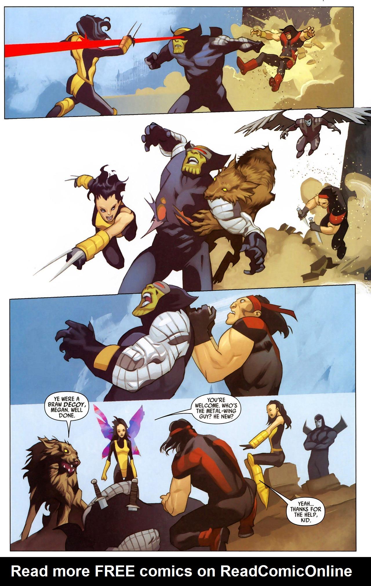 Read online Secret Invasion: X-Men comic -  Issue #2 - 23