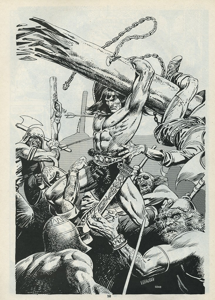 The Savage Sword Of Conan Issue #182 #183 - English 60