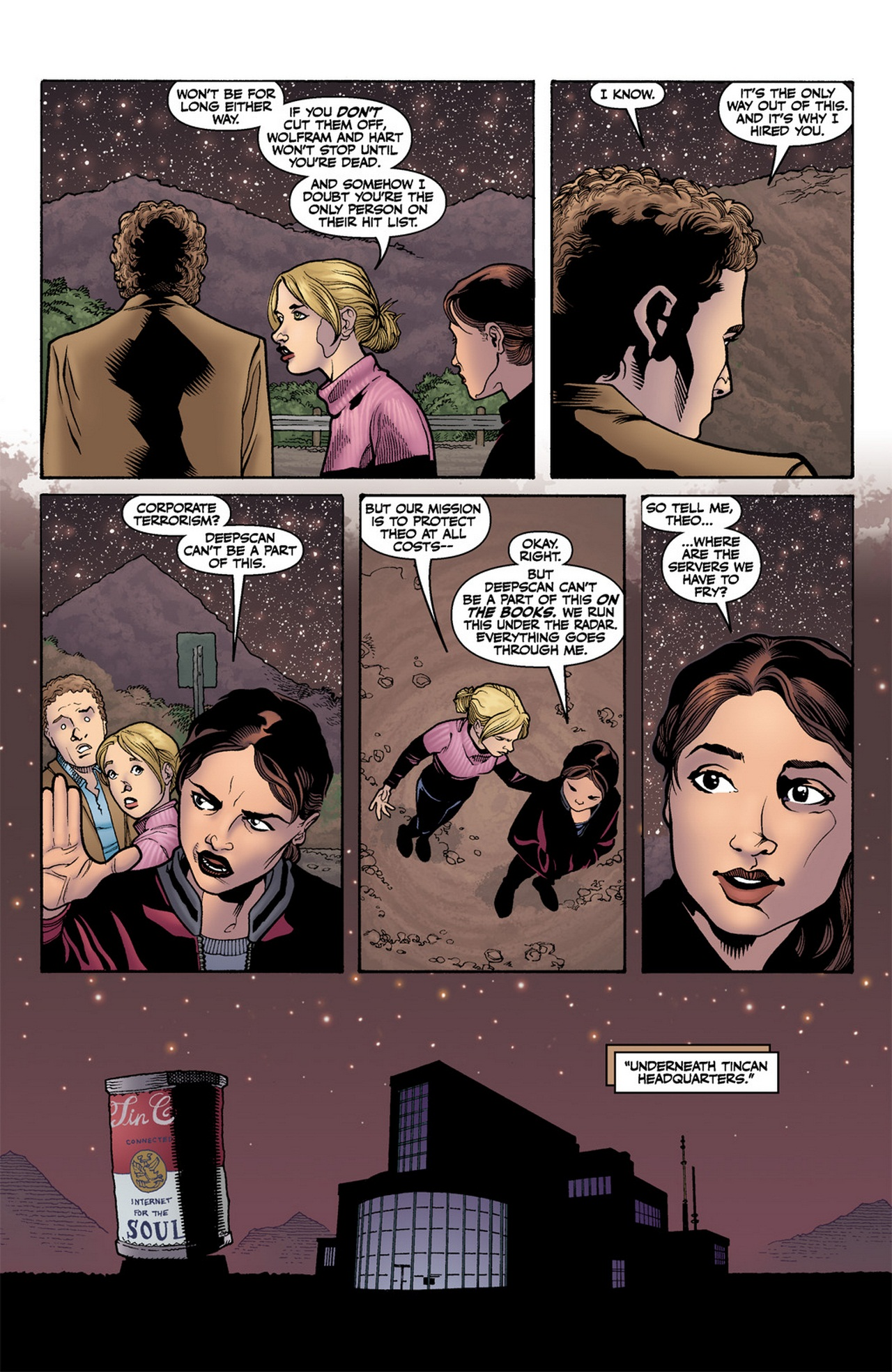 Read online Buffy the Vampire Slayer Season Nine comic -  Issue #12 - 8