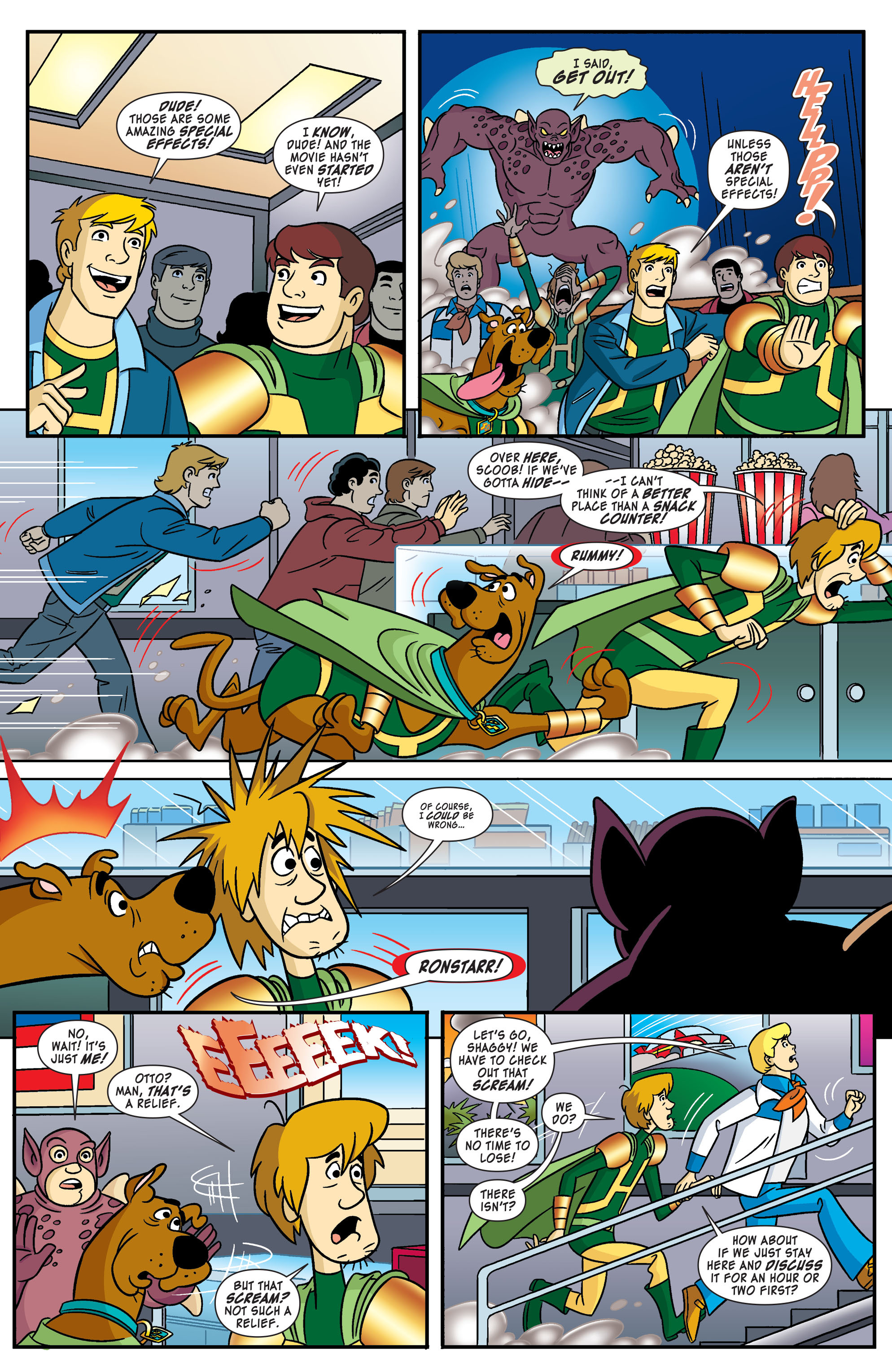 Read online Scooby-Doo: Where Are You? comic -  Issue #55 - 4