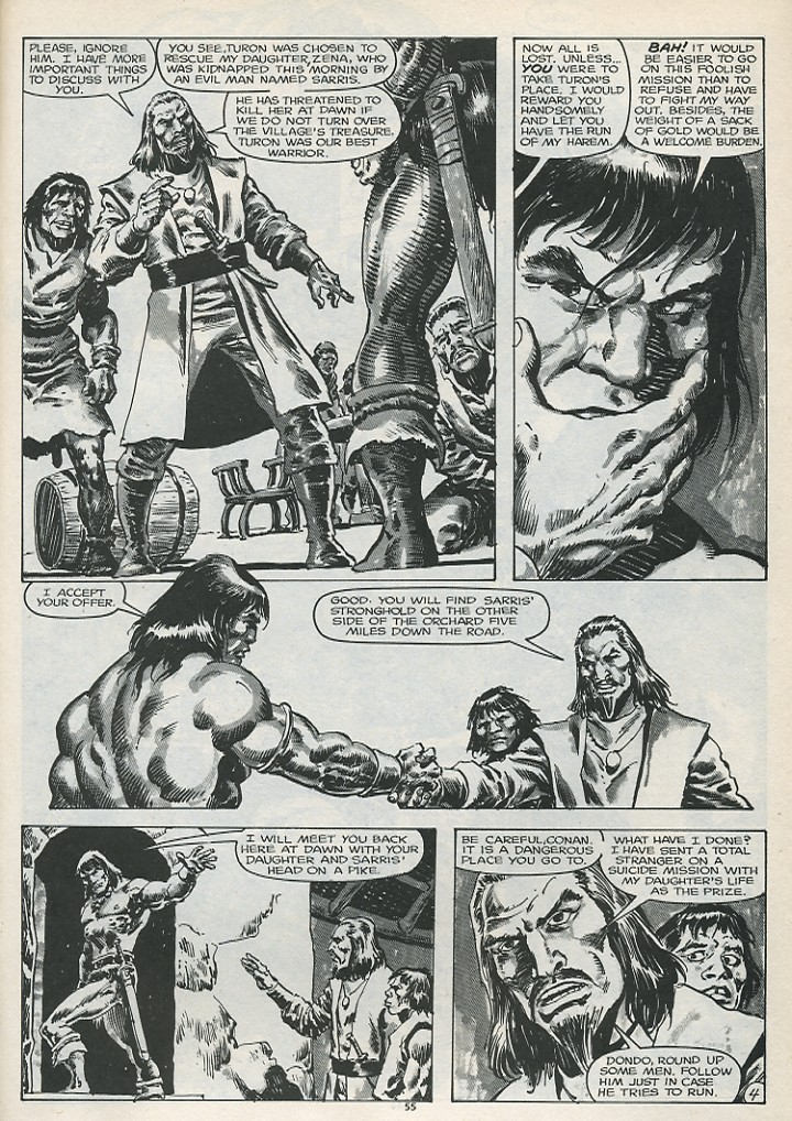 The Savage Sword Of Conan Issue #179 #180 - English 57