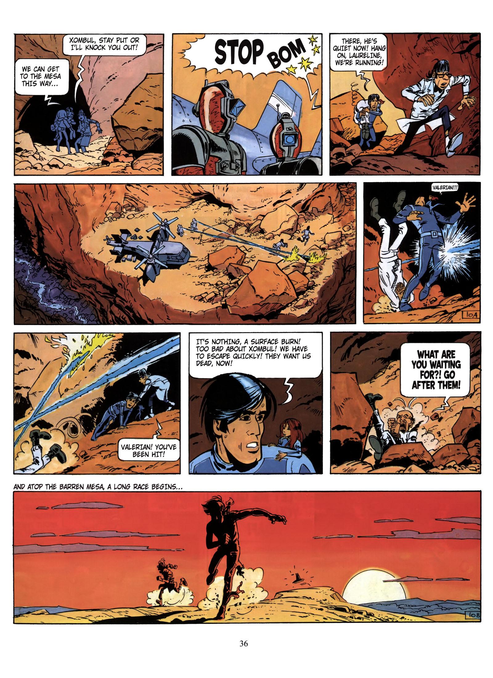 Valerian and Laureline #1 #23 - English 37