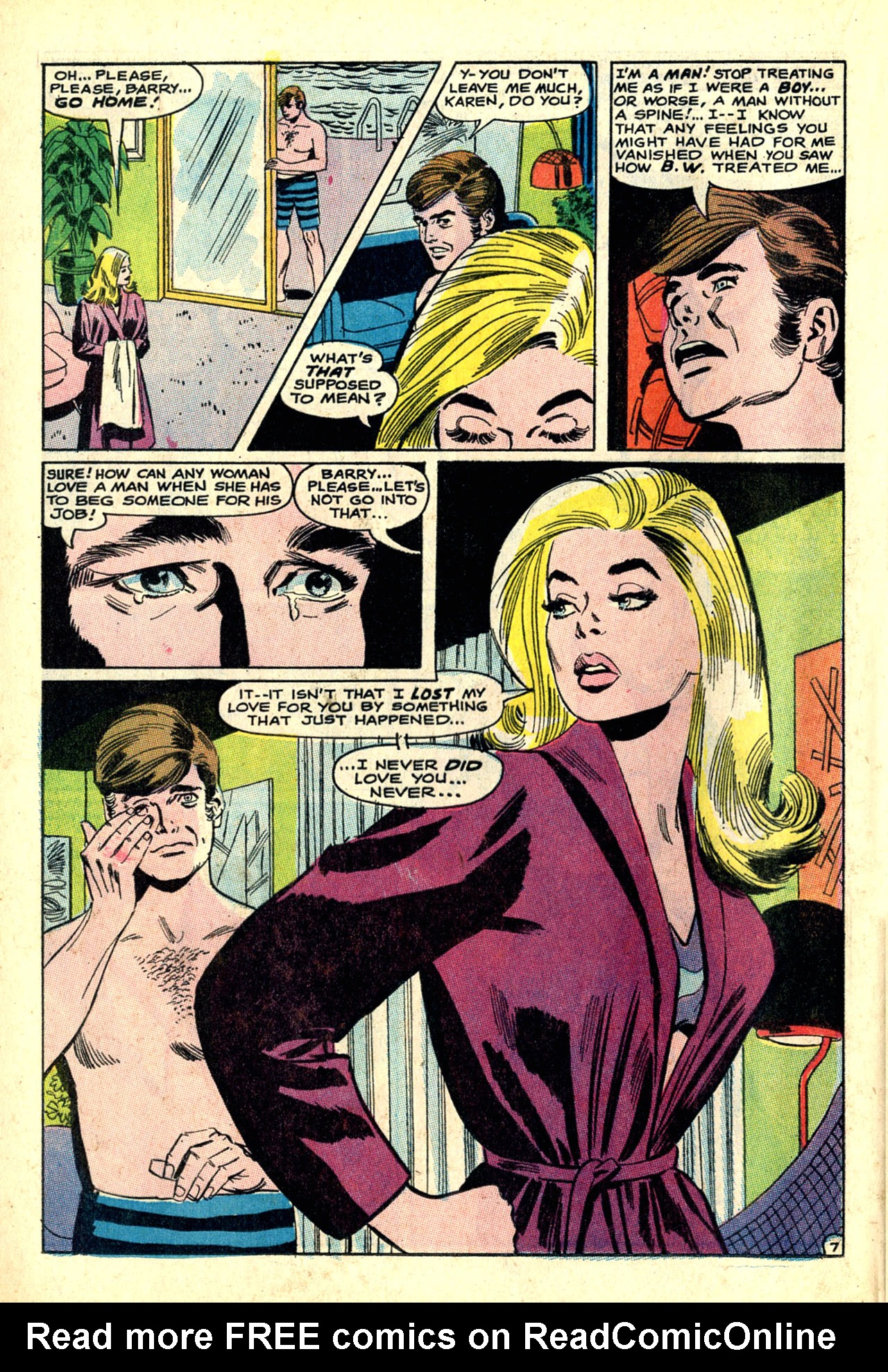 Read online Secret Hearts comic -  Issue #132 - 59