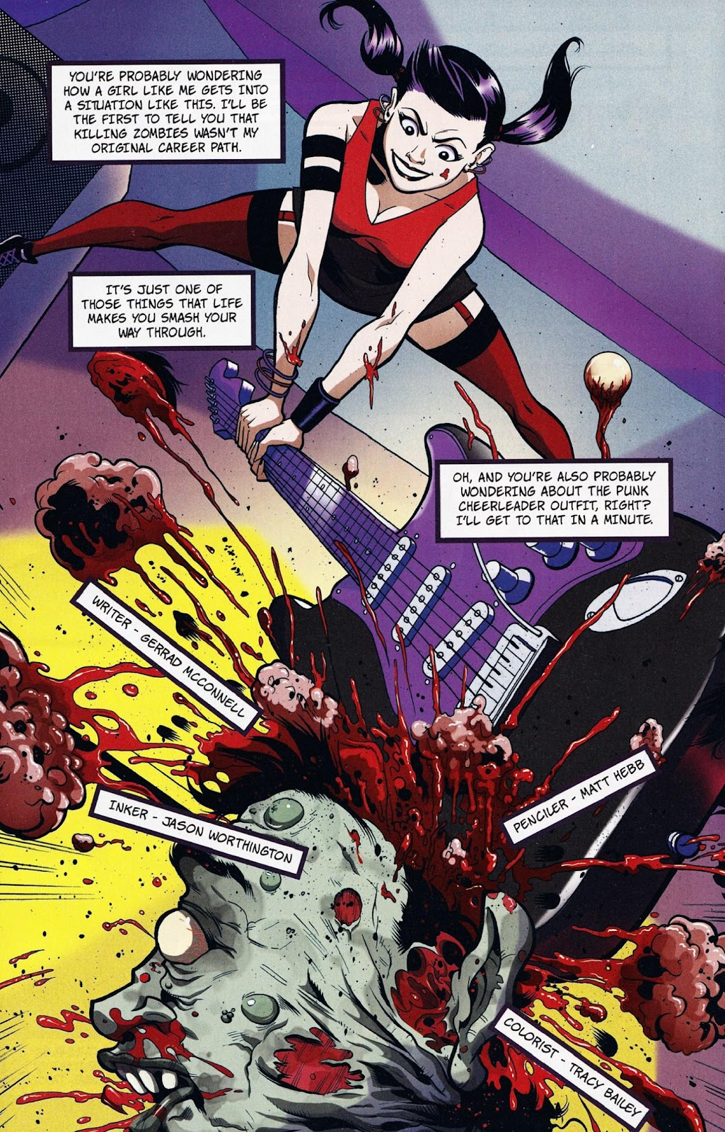 Zombies vs Cheerleaders Issue #1 Page 13