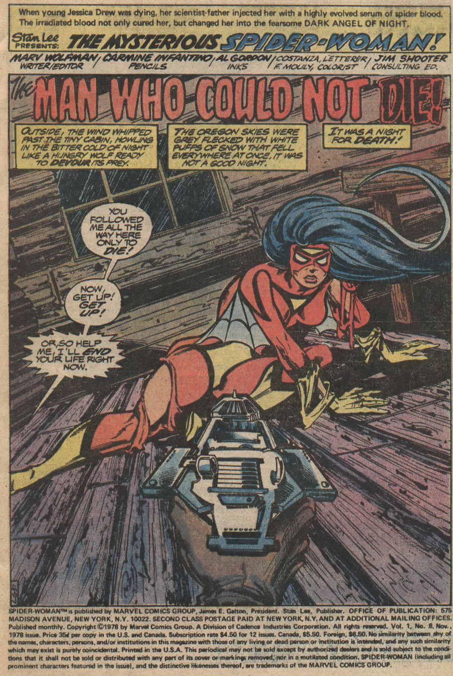 Spider-Woman (1978) Issue #8 #8 - English 2