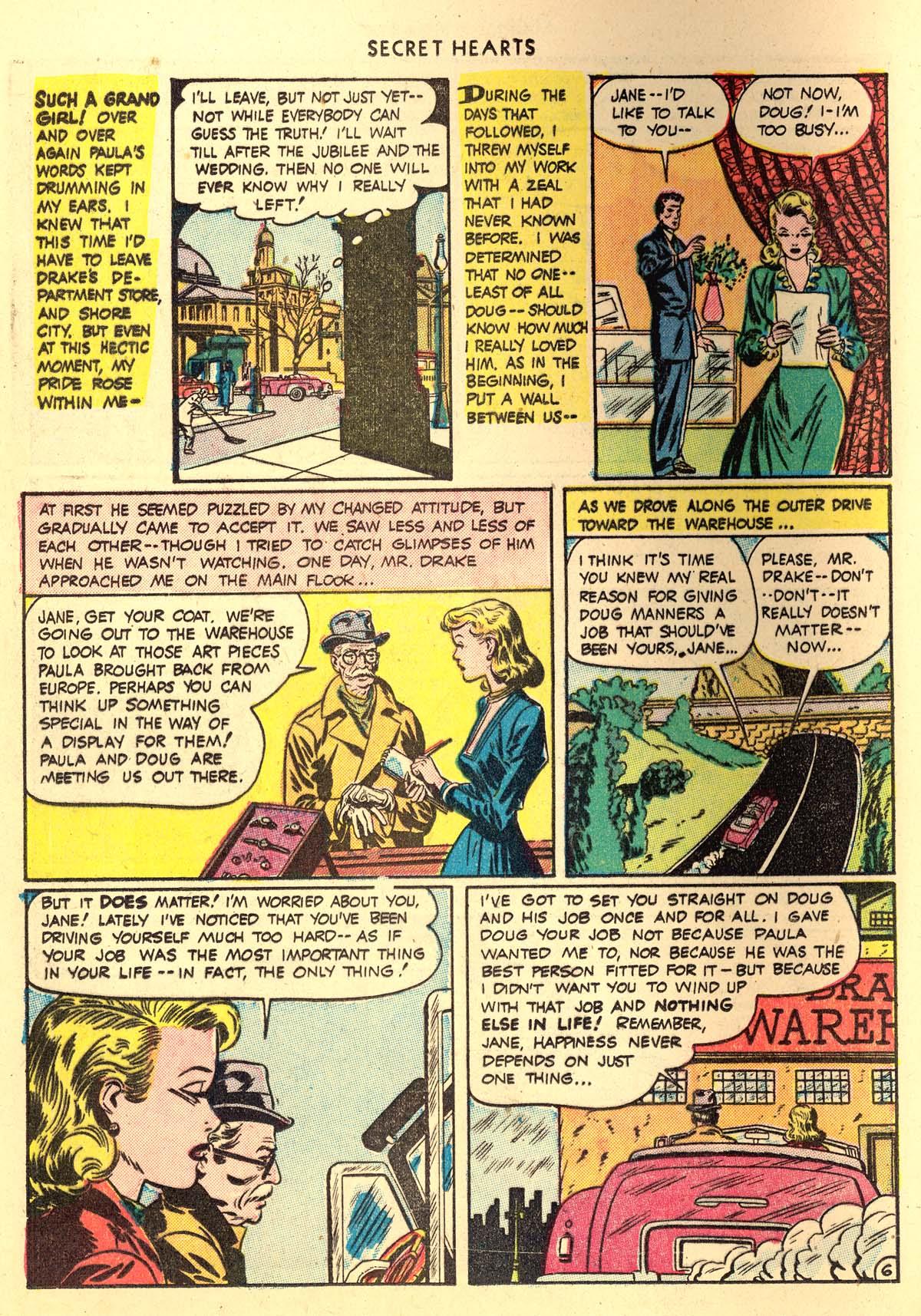 Read online Secret Hearts comic -  Issue #4 - 18