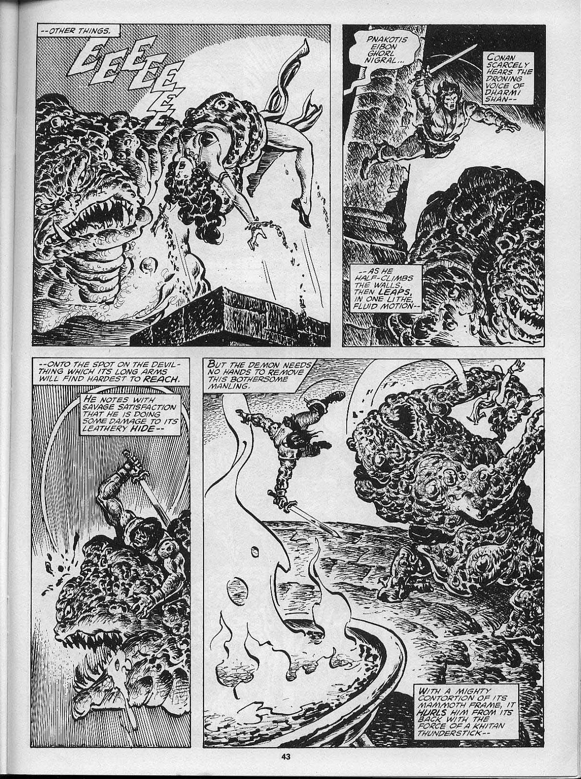 The Savage Sword Of Conan Issue #200 #201 - English 45