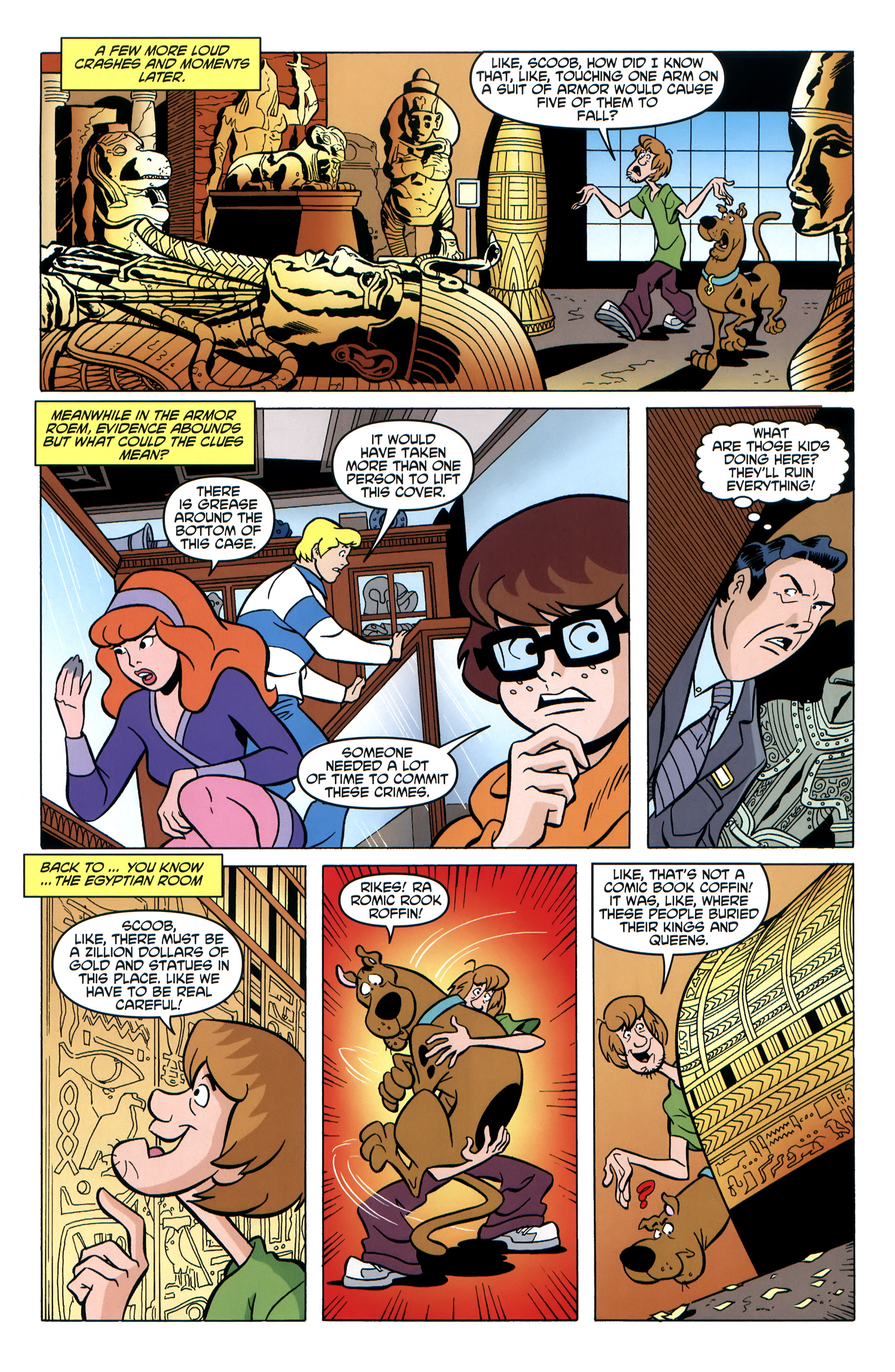 Read online Scooby-Doo: Where Are You? comic -  Issue #35 - 15