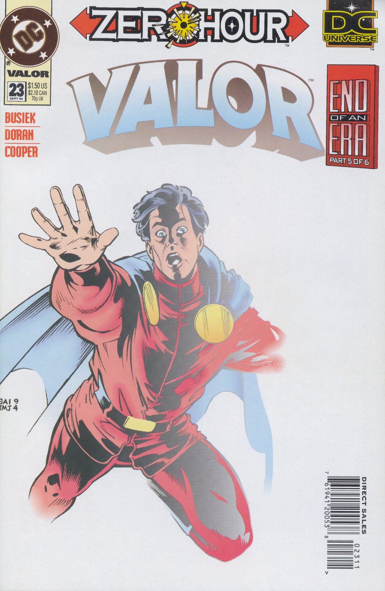 Valor (1992) issue 23 - Page 1