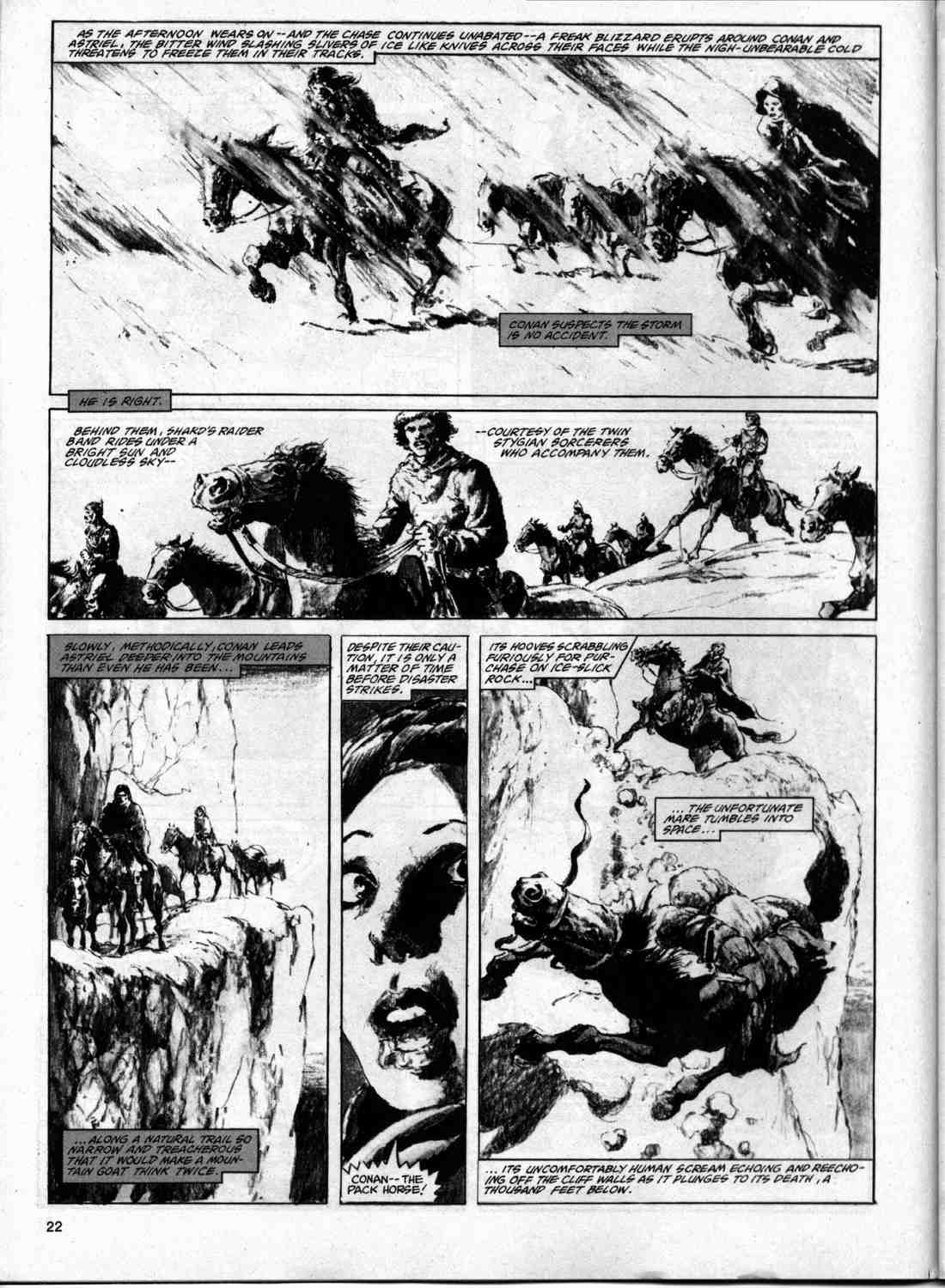 The Savage Sword Of Conan Issue #74 #75 - English 21