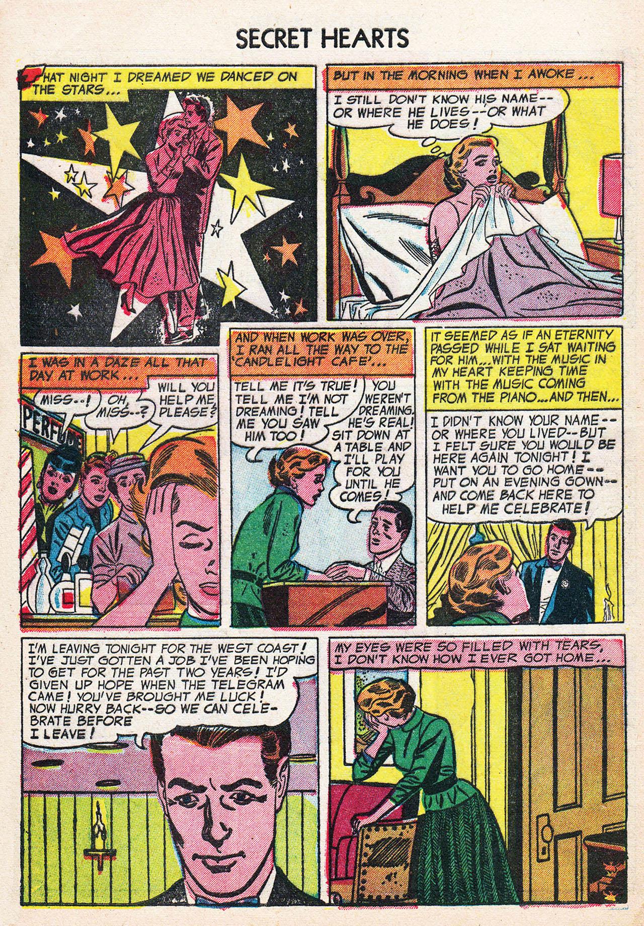 Read online Secret Hearts comic -  Issue #24 - 32