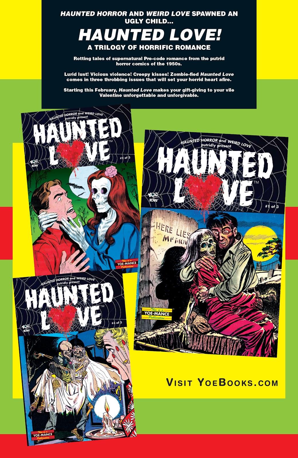 Haunted Horror Issue #20 #20 - English 48