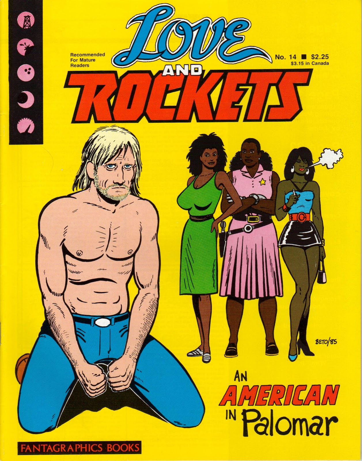 Love and Rockets (1982) Issue #14 #13 - English 1