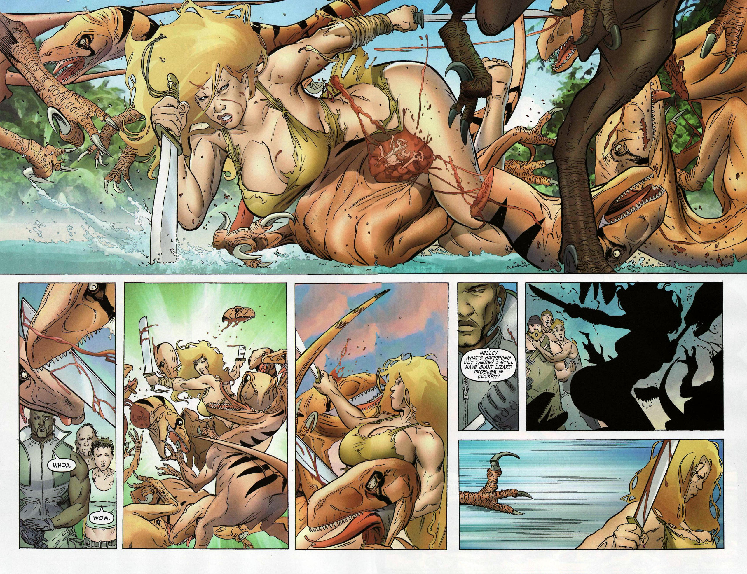 Read online Shanna the She-Devil: Survival of the Fittest comic -  Issue #1 - 11