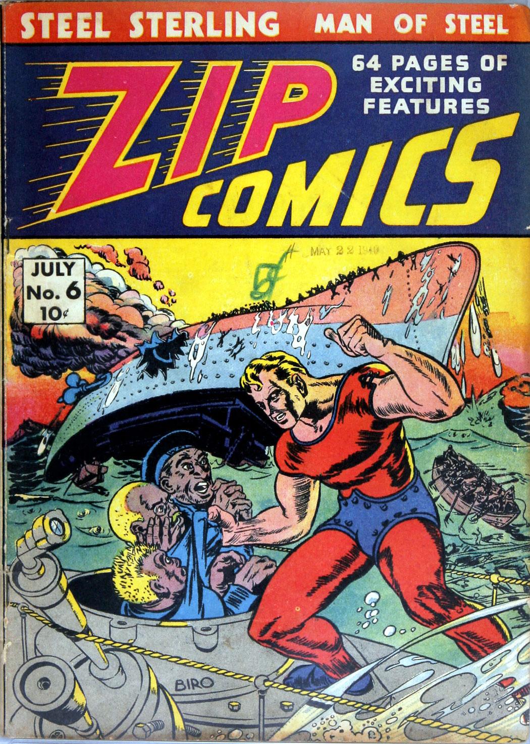 Zip Comics 6 Page 1