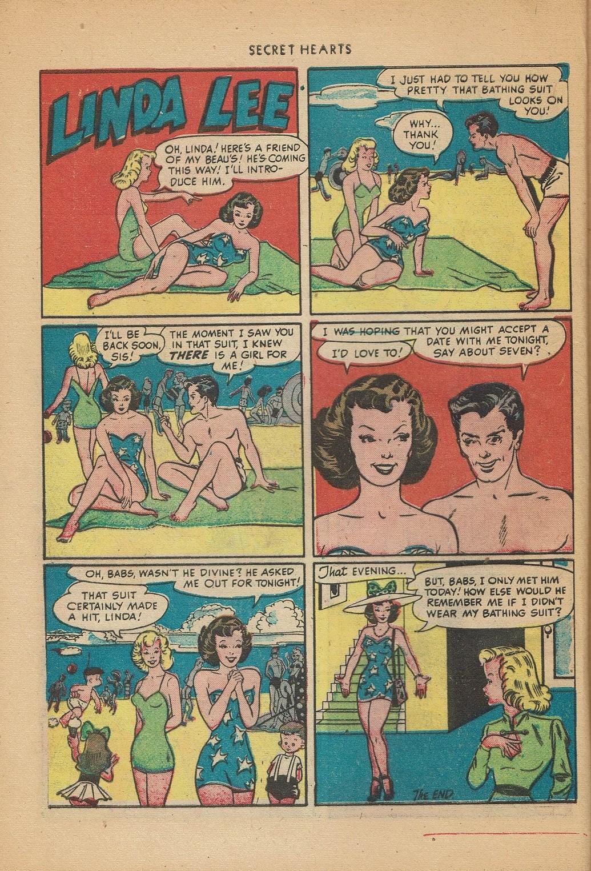 Read online Secret Hearts comic -  Issue #2 - 24