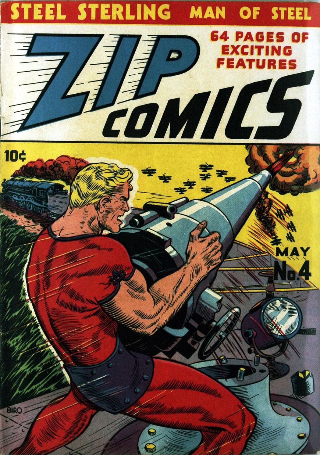 Zip Comics 4 Page 2