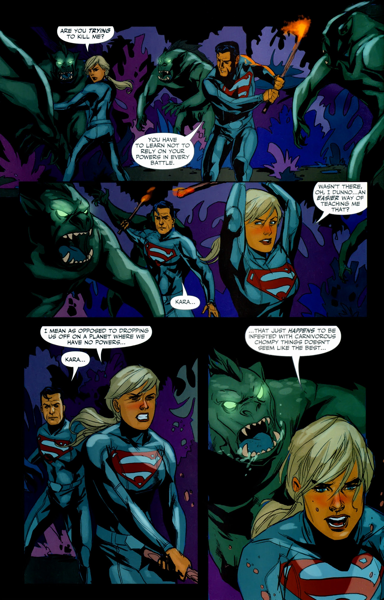Read online Superman/Supergirl: Maelstrom comic -  Issue #3 - 4