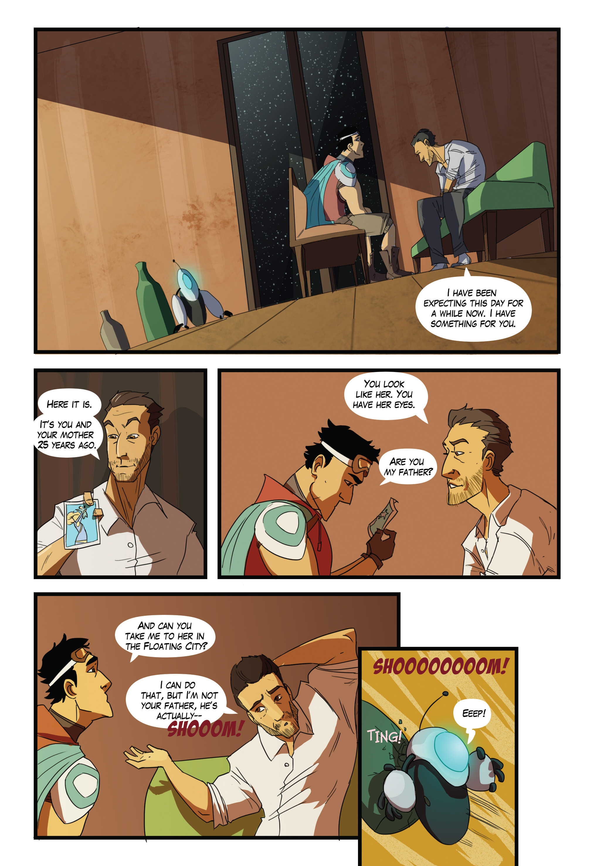 Read online Scavenger comic -  Issue #2 - 18