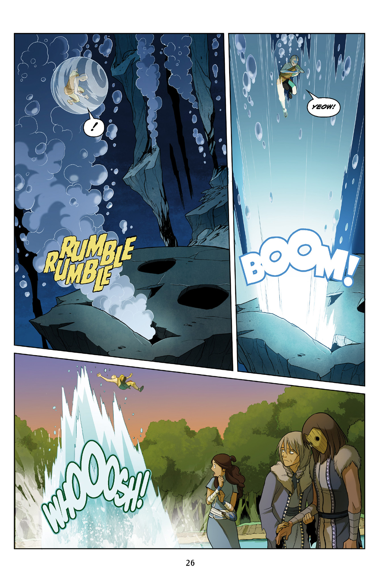 Read online Nickelodeon Avatar: The Last Airbender - The Search comic -  Issue # Part 3 - 27