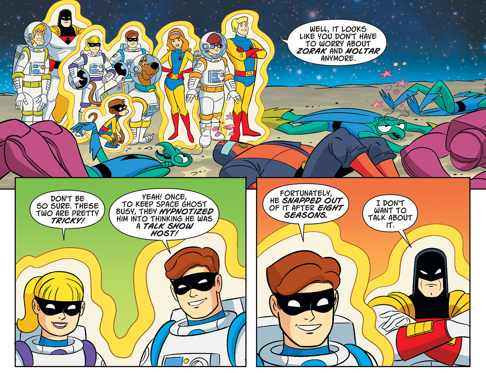 Read online Scooby-Doo! Team-Up comic -  Issue #40 - 22