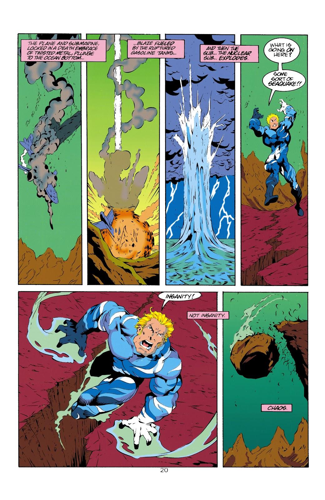 Aquaman (1994) Issue #14 #20 - English 21
