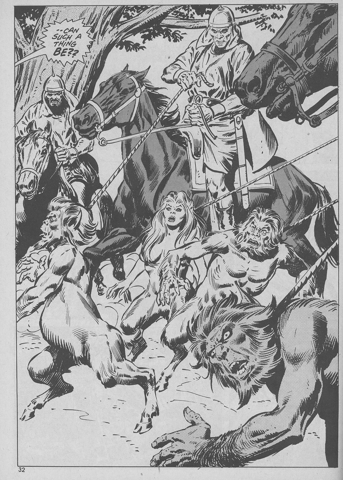 The Savage Sword Of Conan Issue #51 #52 - English 32
