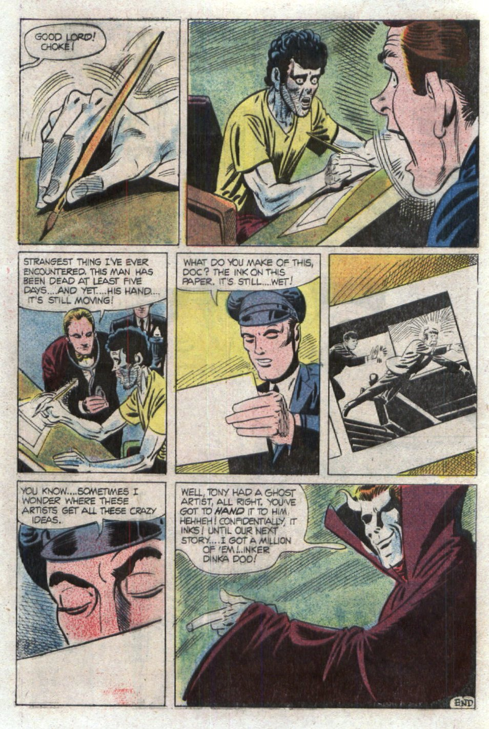 Read online Scary Tales comic -  Issue #19 - 32