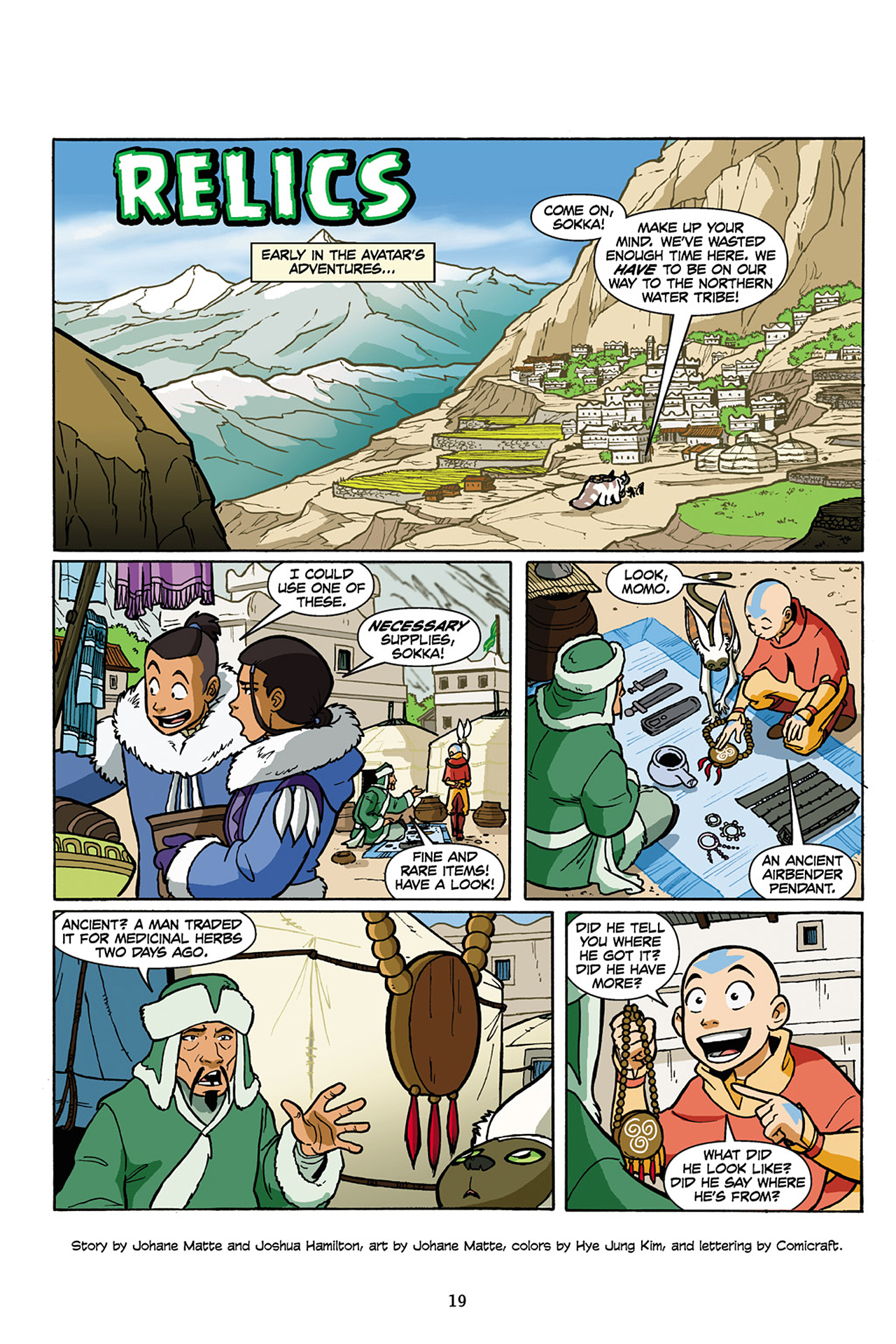 Nickelodeon Avatar: The Last Airbender - The Lost Adventures chap full pic 20