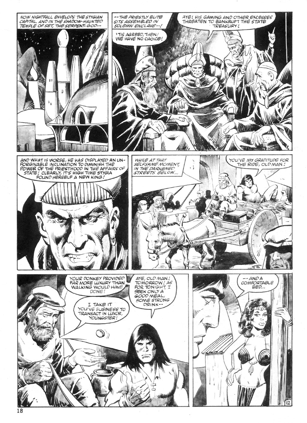 The Savage Sword Of Conan Issue #94 #95 - English 17