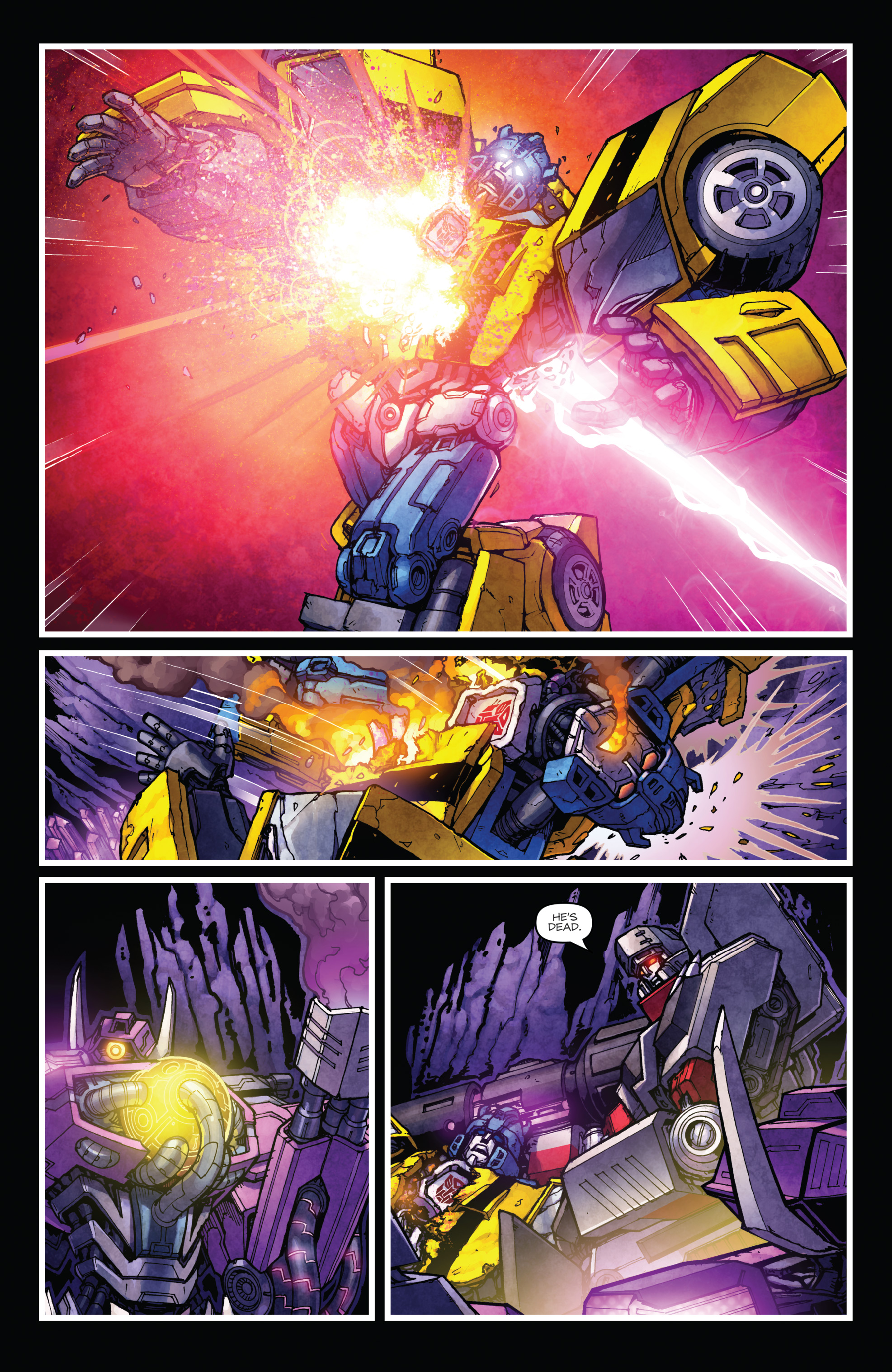 Read online The Transformers: Dark Cybertron Finale comic -  Issue # Full - 119