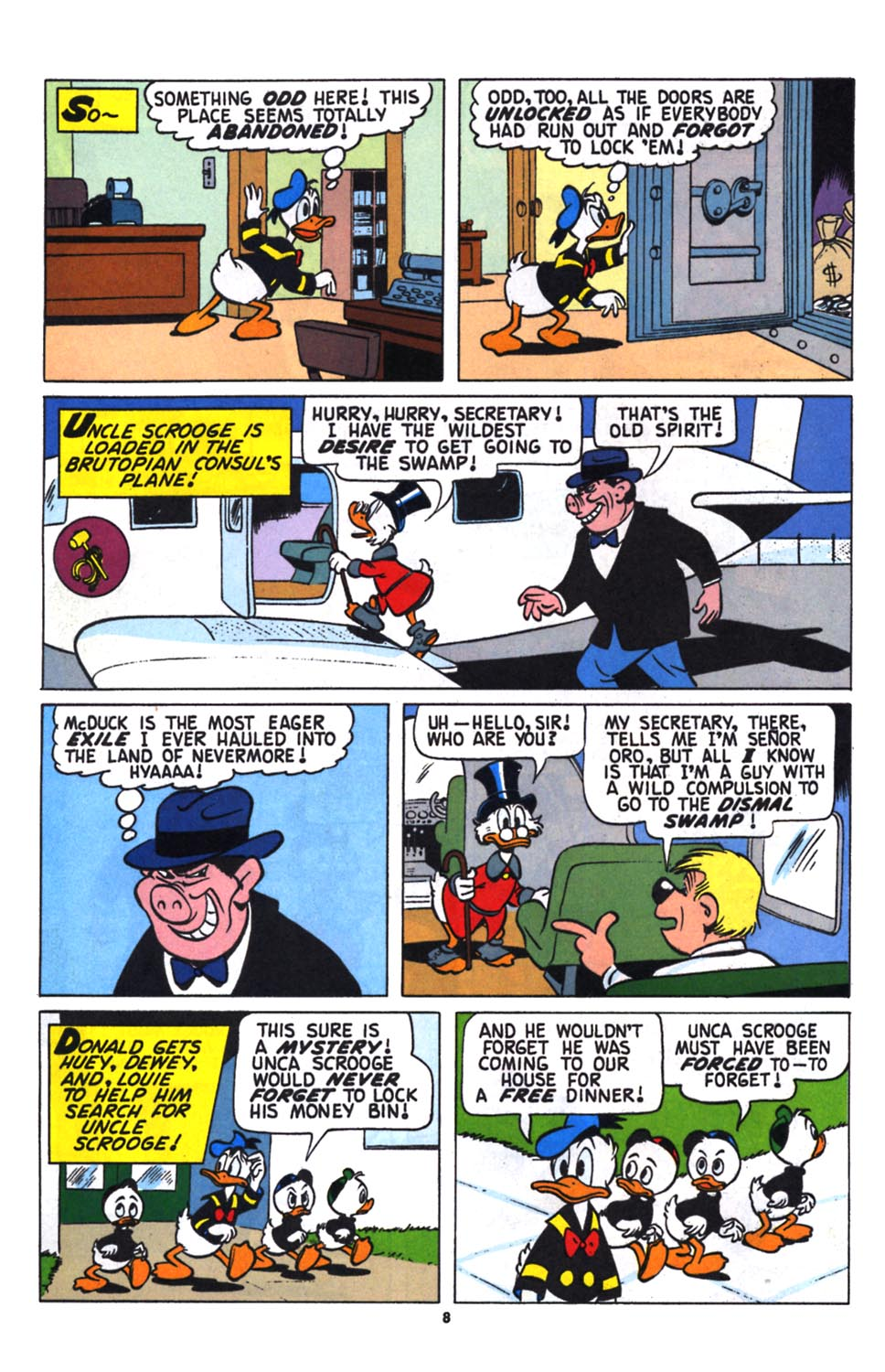 Uncle Scrooge (1953) Issue #258 #258 - English 9