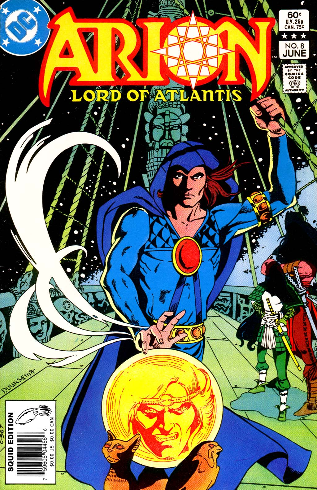 Arion, Lord of Atlantis 8 Page 1