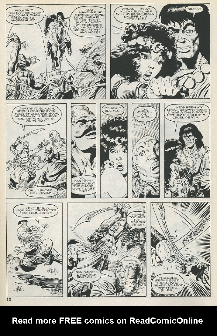 The Savage Sword Of Conan Issue #131 #132 - English 10
